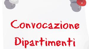 CIRCOLARE N. 165 - Convocazione Dipartimenti orizzontali 14 ...